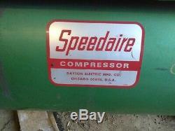 10 HP SPEEDAIRE Horizontal Air Compressor 3 Phase 230V / 460V with Starter