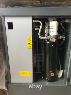 10 hp Atlas Copco G7FF rotary screw air compressor