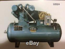 10 hp Single phase Saylor Beall air compressor