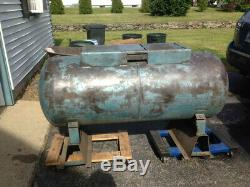 120 Gallon Horizontal Compressed Air Tank Receiver ASME Coded Hydrotested