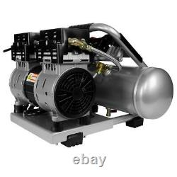 125 PSI 2 Gallon Oil Free Reduced Noise Electric Air Compressor Long Life