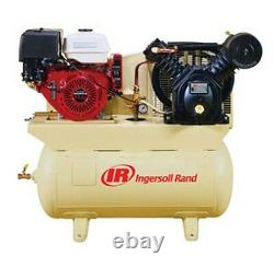 13HP 30-Gallon Horizontal Air Compressor with Honda Engine IRR-2475F13GH New