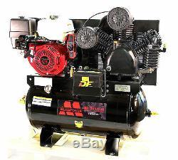13HP HONDA GX390 GAS DRIVE SERVICE TRUCK 30 Gallons MEGA AIR COMPRESSOR