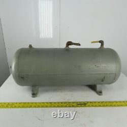 15 Gallon Horizontal Compressed Air Receiver Tank 200 PSI