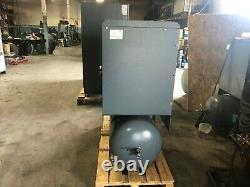 15 hp Atlas Copco GX11FF air compressor and dryer