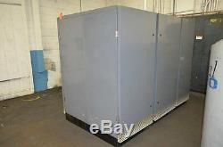 150 Hp Atlas Copco GA-110 Rotary Screw Air Compressor Skid Mnt'd Sound Enclosure