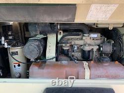 185cfm Ingersoll rand portable diesel air compressor