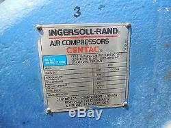 1989 Ingersoll-rand 1cv8m2 Centac Air Compressor 200 HP 460 V Volt Used