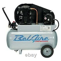 2 hp 1-Stage 120/220 V 1-Phase 20 gal Horizontal Portable Air Compressor