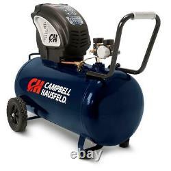 20 Gal. Portable Horizontal Electric Air Compressor Oil & Maintenance Free Pump