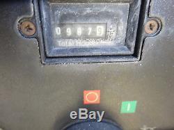 2007 Ingersoll Rand P185WJD Air Compressor 900 HRS RUNS MINT! 185 CFM Deere DSL