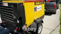 2007 Kaeser M57 Towable Compressor Great shape and Clean  See pics