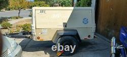 2008 Ingersoll Rand P185WJD Air Compressor, 185 CFM John Deere 4024 Turbo Diesel