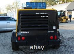 2012 Kaeser M57 Towable Air Compressor 210 CFM 100 PSI 49hp Kubota Diesel Engine