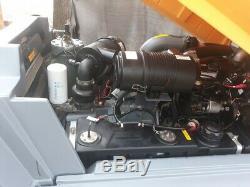 2013 Atlas Copco XAS 185 JD7PE air compressor LOW HOURS 185 CFM DIESEL