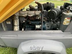 2016 atlas copco XAS 185 KD7 Kubota Diesel Powered air compressor