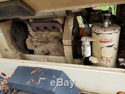 250cfm Ingersoll Rand Air Compressor Trailer Only 1500 Hours! Larger then185cfm