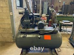 2HP Quincy Air Compressor With 53 Gallon Tank