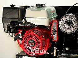 30 Gallon Truck Mount Air Compressor With Honda GX390 Electric Key Start Mega