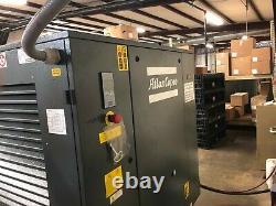 30 HP Atlas Copco G22FF rotary screw air compressor