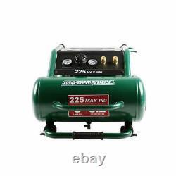 5 Gallon 225 PSI Portable Electric Horizontal Air Compressor Oil Free Steel Tank