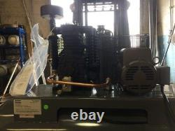 5 HP Atlas Copco 80 gallon air compressor