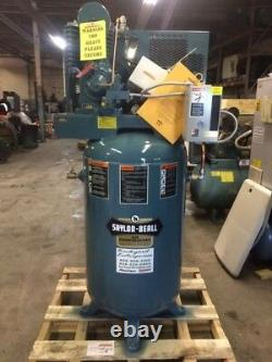 5 hp Single phase Saylor Beall Industrial air compressor