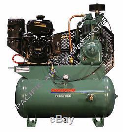 5f564 Champion Hgr7-3k 14hp 2-stage Gas Compressor 30 Galtank Mount Kohler