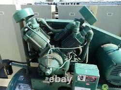 7.5 HP Air Compressor 120 GAL Horizontal Qualair