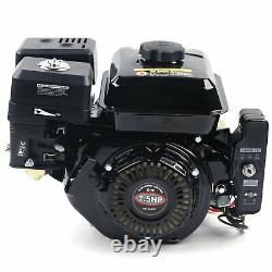 7.5HP Pull Electric Start Gas Engine Shaft Motor Forced Air Cooling for Go Kart
