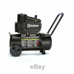 8 Gallon Portable Air compressor Electric Horizontal Single stage