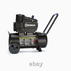 8-Gallon Single Stage Portable Electric Horizontal Air Compressor (470442)