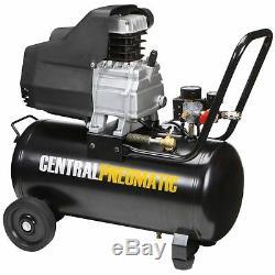 8 gal. 2 HP 125 PSI Oil Lube Air Compressor Central Pneumatic Item#68740