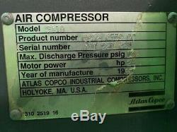 ATLAS COPCO GA18, Used 25 HP, 460V 3 PHASE
