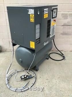 ATLAS COPCO SF6+FF air compressor oil-free, scroll system with dryers and drain