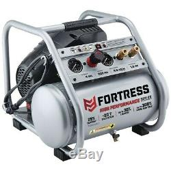 Air Compressor 4 gallon 1.5 HP 200 PSI Oil-Free Professional Low noise 80 dBA
