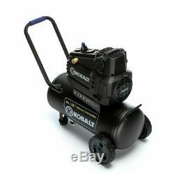 Air Compressor 8 Gallon 1.8 HP 150PSI 120V Horizontal Portable Kobalt NEW Strong