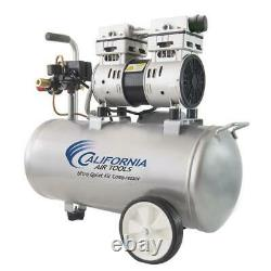 Air Compressor 8 Gallon Single Stage Portable Corded Electric Horizontal Durable