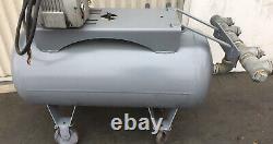 Air Compressor Horizontal Cylinder Steel Accumulation Tank 30Gal. Cylinder Only