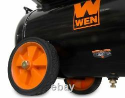 Air Compressor Oil-Lubricated Portable Horizontal Steel Garage Jobsite 6-Gallon