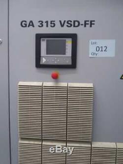 Atlas Copco Air Compressor GA 315 VSD-FF 339/454,6 kWithHP