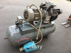 Atlas Copco Directair LE8 7-1/2HP 2 Stage Air Compressor 230/460V 3Phase 80 Gal