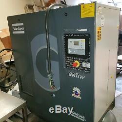 Atlas Copco GA11FF, rotary screw air compressor, 15hp