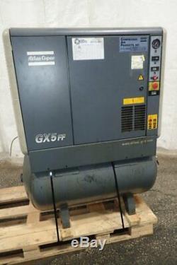 Atlas Copco Gx5ff Air Compressor 7.5 HP 04201230002