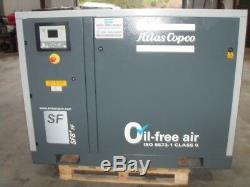Atlas Copco Model SF8FF Oil Free Air Compressor