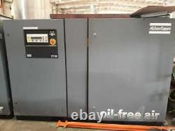 Atlas Copco Oil Free Screw Compressor With Dryer