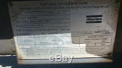 Atlas Copco Portable Air Compressors Towable Mobile Compressor Used