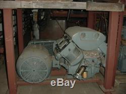 Atlas Copco air compressor 75HP 295 SCFM reciprocating (ID307)