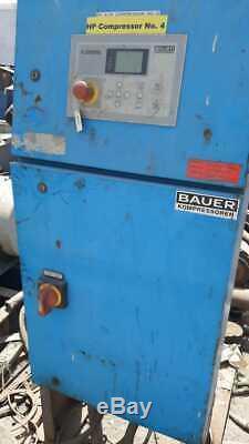 BAUER High Pressure Air Compressor ModelI28.0-55, 2007