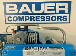 Bauer Compressor OCEANUS Breathing Air Compressor WP 5000PSI